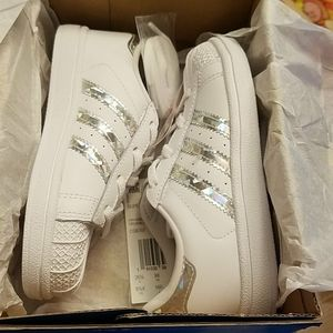New Adidas Superstar girls sneakers shoes
